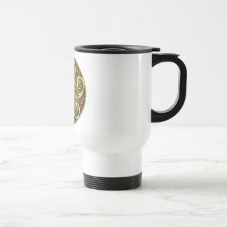 Celtic Pentacle Spiral 15 Oz Stainless Steel Travel Mug