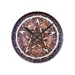 Celtic Pentacle Wall Clock - Medium