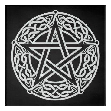 Celtic Pentagram Acrylic Print