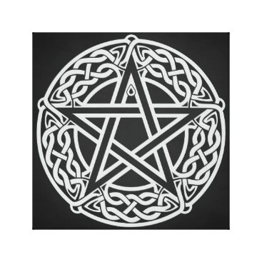 Celtic Pentagram Canvas Print