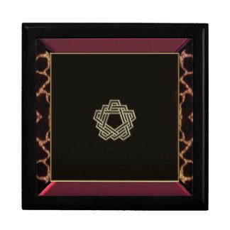 Celtic Pentagram Knot Gift Box