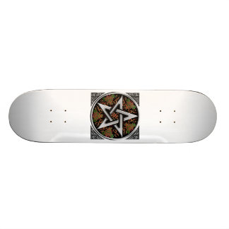 Celtic Pentagram Skateboard