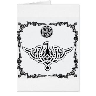 Celtic Phoenix Greeting Card