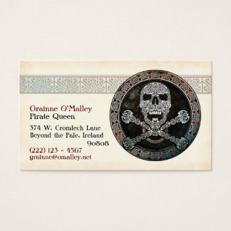 Celtic Pirate Business Cards