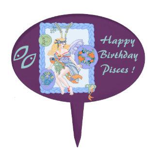 Celtic Pisces Cake Pick