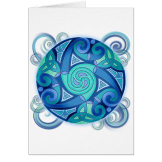Celtic Planet Greeting Cards