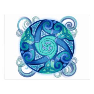 Celtic Planet Postcard
