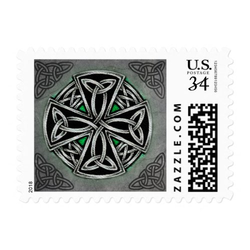 Celtic Postage Stamp
