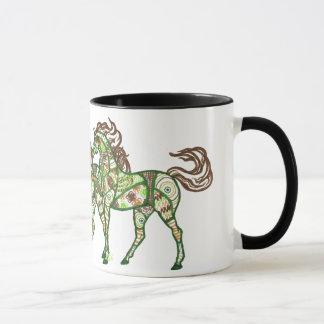 Celtic Prancing Horse Coffee Mug