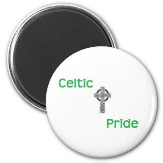 Celtic Pride Round Magnet