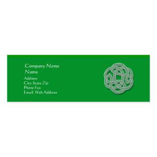 Celtic Profile Card Business Card Template