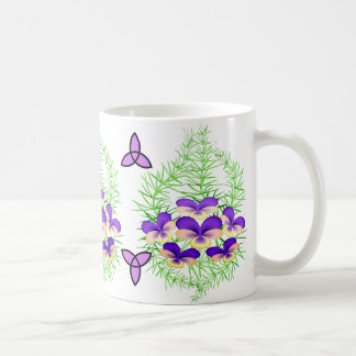 Celtic Purple Jewels Classic White Coffee Mug