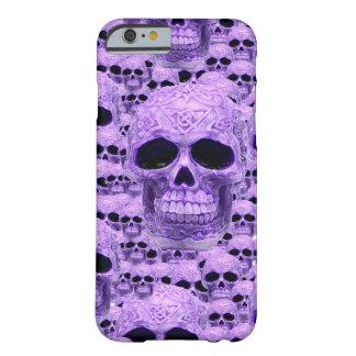 Celtic purple skull collage iPhone 6 case