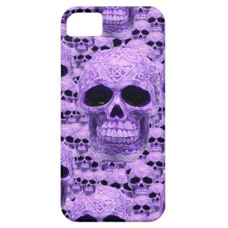 Celtic purple skull collage iPhone SE/5/5s case