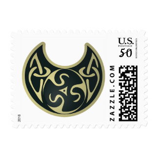Celtic Queen Crescent Moon Jewellery Stamp