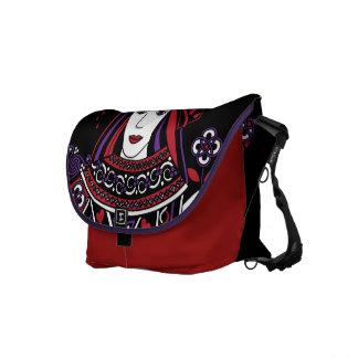 Celtic Queen of Hearts Part I Messenger Bag
