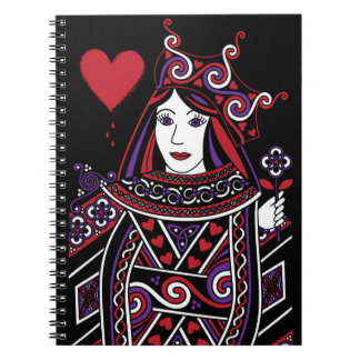 Celtic Queen of Hearts Part I Notebook