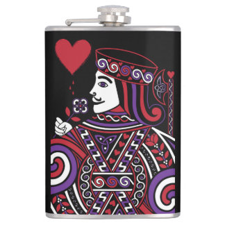 Celtic Queen of Hearts Part II The Knave of Hearts Flask