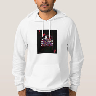 Celtic Queen of Hearts Part II The Knave of Hearts Hooded Pullover