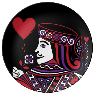 Celtic Queen of Hearts Part II The Knave of Hearts Plate