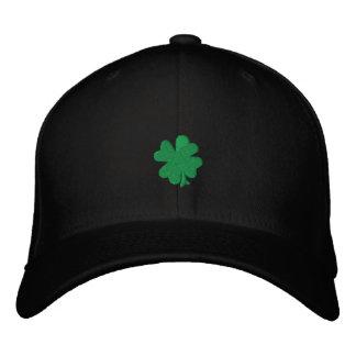"Celtic Quest ""Green Clover"" FlexFit Hat Embroidered Baseball Caps"