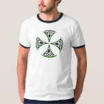 "Celtic Quest ""Slainte"" Ringer T-Shirt"