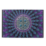 Celtic Radiant Fractal Mandala with Celtic Knot Cover For iPad Air