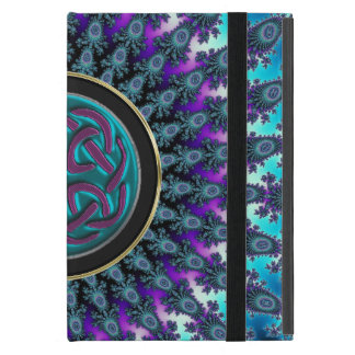 Celtic Radiant Star Fractal with Cool Celtic Knot iPad Mini Cover
