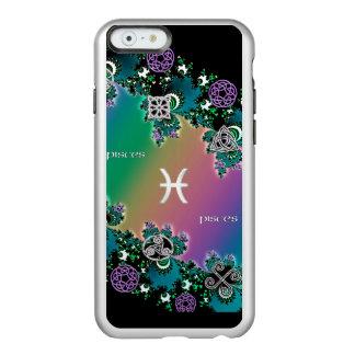 Celtic Rainbow Fractal Zodiac Sign Pisces Incipio Feather® Shine iPhone 6 Case