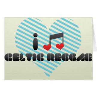 Celtic Reggae Greeting Card