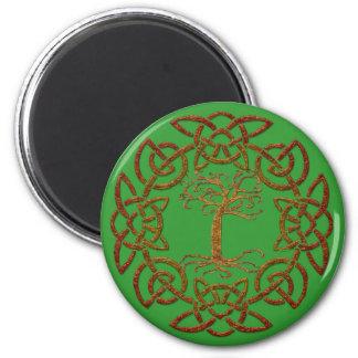 Celtic Ring Tree of Life Irish-supporter Magnet