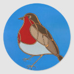 Celtic Robin Sticker