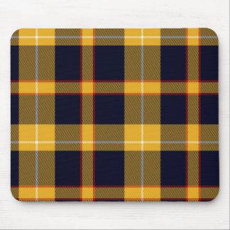 Celtic rojo de tartán de la tela escocesa del mouse pads