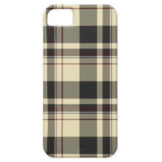 Celtic rojo escocés del blanco gris de la tela funda para iPhone SE/5/5s