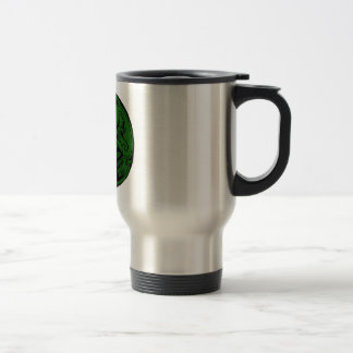 Celtic rond chien green mugs