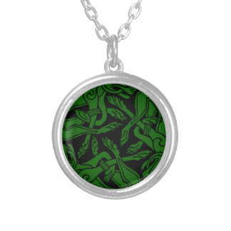 Celtic rond chien green jewelry