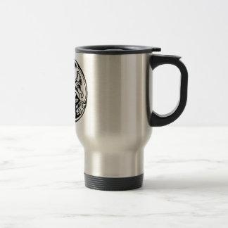 Celtic rond chien mug