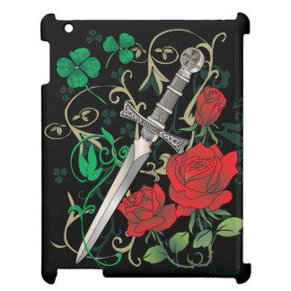 Celtic Rose iPad iPad Mini Covers