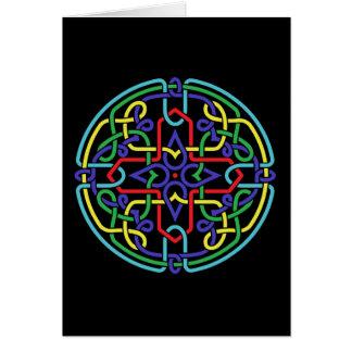 Celtic Rosette Card