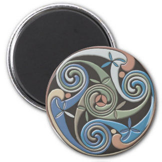 Celtic Round Design - Magnet