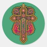 Celtic Round Sticker
