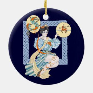 Celtic Sagittarius Ceramic Ornament
