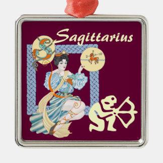 Celtic Sagittarius Metal Ornament