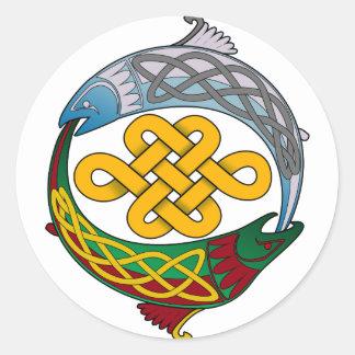 Celtic Salmon Sticker