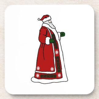 Celtic Santa Claus Coaster