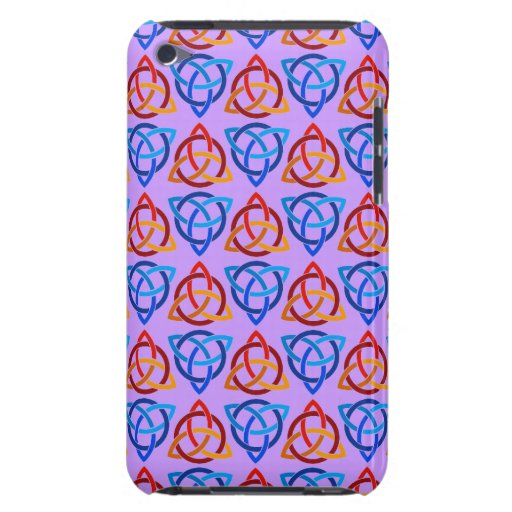 Celtic Scandi Tri Knot Design iPod Case-Mate Cases