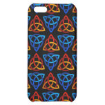 Celtic Scandi Tri Knot Design Case For iPhone 5C