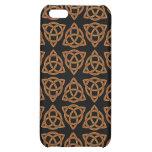 Celtic Scandi Tri Knot Design iPhone 5C Case
