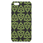 Celtic Scandi Tri Knot Design iPhone 5C Covers