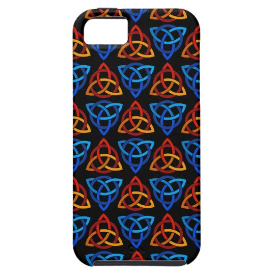 Celtic Scandi Tri Knot Design iPhone SE/5/5s Case